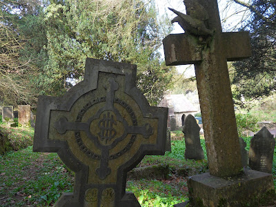 Mysterious symbol in Cornish churchyard Cornwall