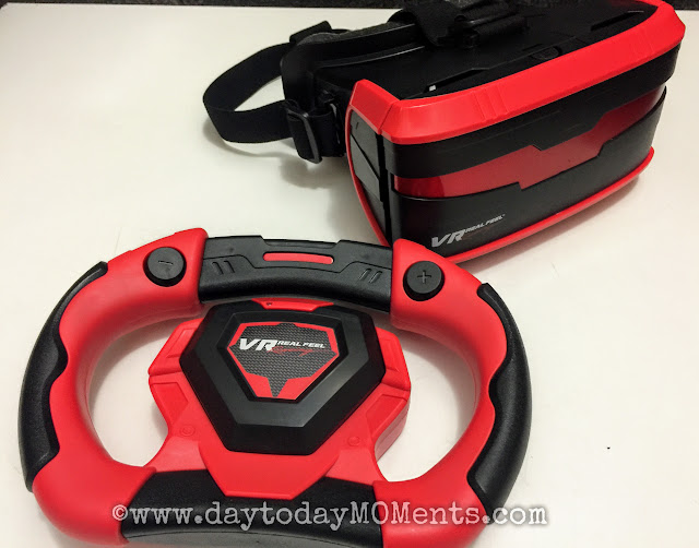 VR gaming system for young kids