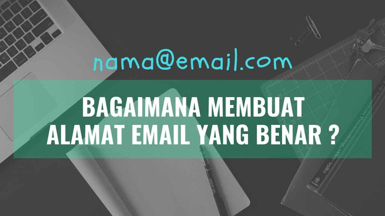 contoh alamat email yang benar