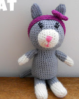 http://www.ravelry.com/patterns/library/celia-cat-crochet-amigurumi-free