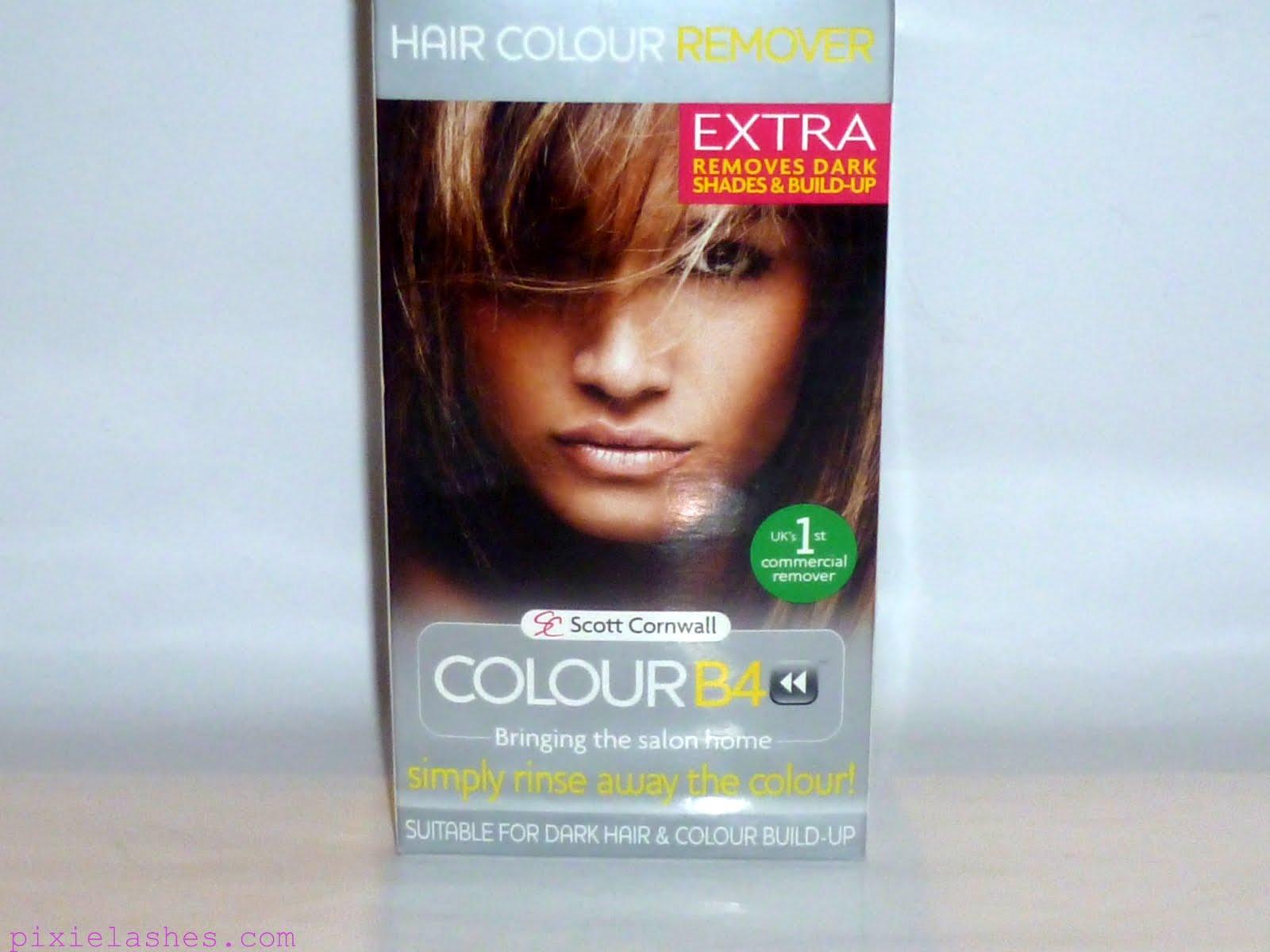 Semi Permanent Hair Color Remover