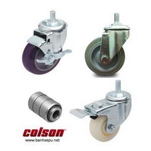 Bánh xe lắp trục ren bánh xe đẩy chịu tải trọng (82~122kg)