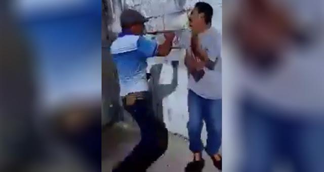 VIDEO, Integrantes de Cártel del Golfo golpean a ladrón en Tamaulipas