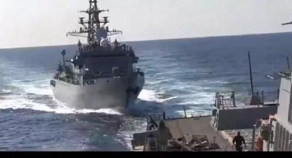 Αμερικανικός στόλος: Επεισόδιο με ρωσικό πλοίο στην Αραβική Θάλασσα – Βίντεο