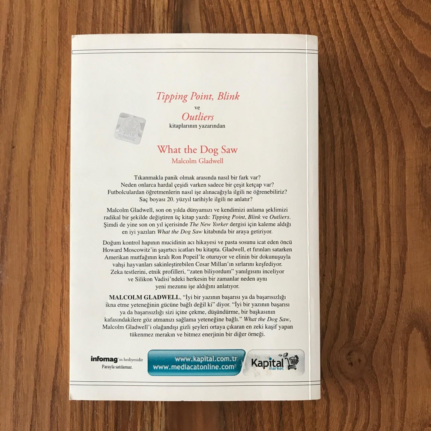 What The Dog Saw - Kopegin Gordugu ve Diger Maceralar (Kitap)