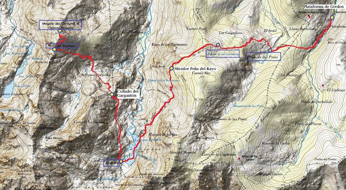 track Cabeza Nevada