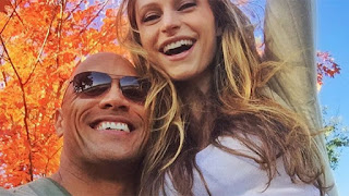 Dwayne The Rock Johnson Wife Baby Mama Lauren Hashian