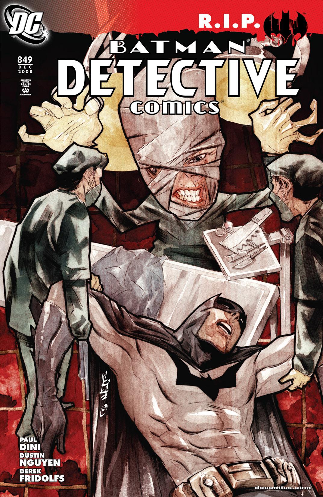 Detective Comics (1937) 849 Page 0