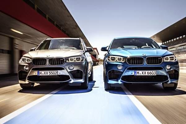 Παιχνίδι ισχύος: Οι νέες BMW X5 M και BMW X6 M