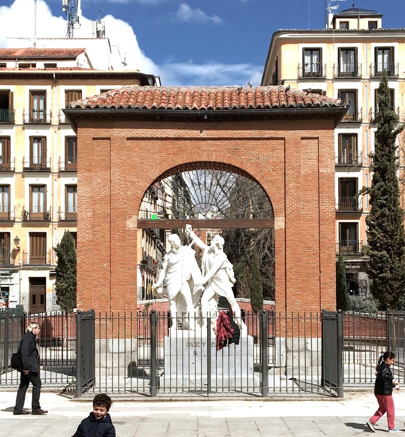 Plaza Dos de Mayo, Barrio Malasaña,