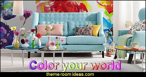 Decorating Theme Bedrooms   Maries Manor: Fun And Funky   Cute And Colorful    Chic And Trendy Decorating Ideas   Unique Decor   Girls Bedroom Decor ...
