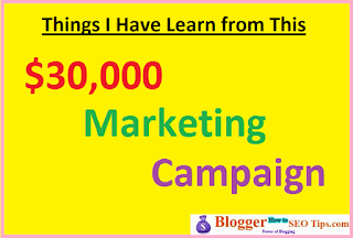 Things I Learn After Investing $30,000 in a Marketing Campaign