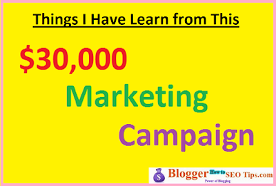 marketing campaign, mistakes in marketing