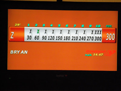 Zack Wiant bowled his first 300 game