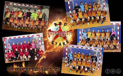 Equipos de fútbol femenino RED STAR'S
