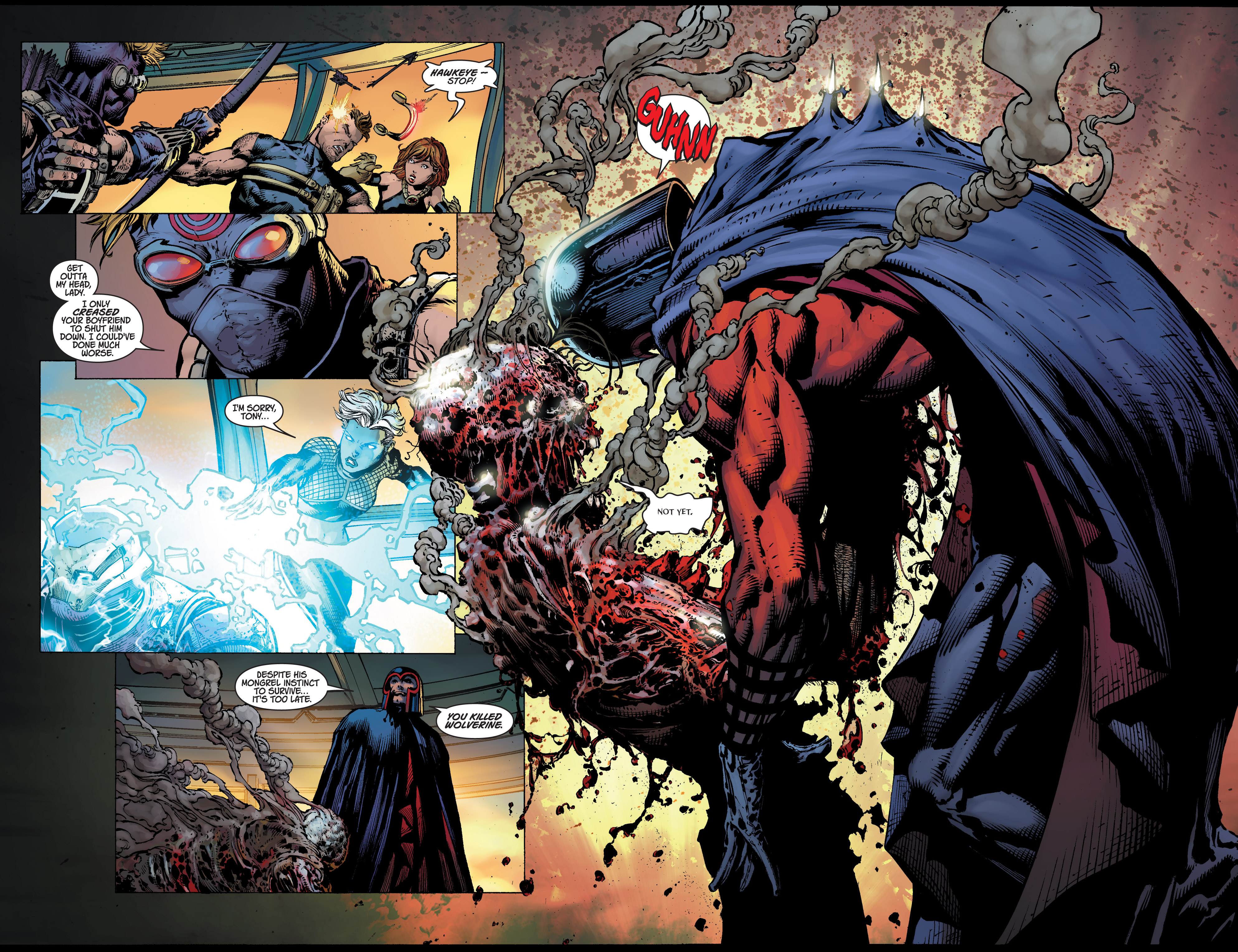 Read online Ultimatum comic -  Issue # _TPB - 99