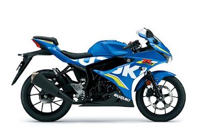 Suzuki GSX-R150 Blue HD image