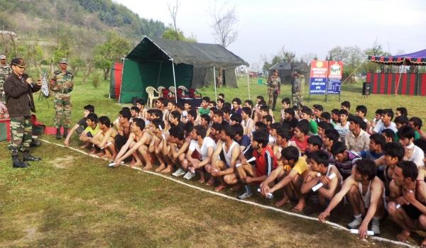 Muzaffarnagar Army Rally, Indian Army Rally, Open Bharti Rally