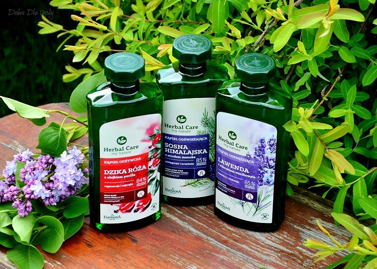 Płyny do kąpieli Farmona Herbal Care - Sosna Himalajska, Dzika Róża i Lawenda recenzja