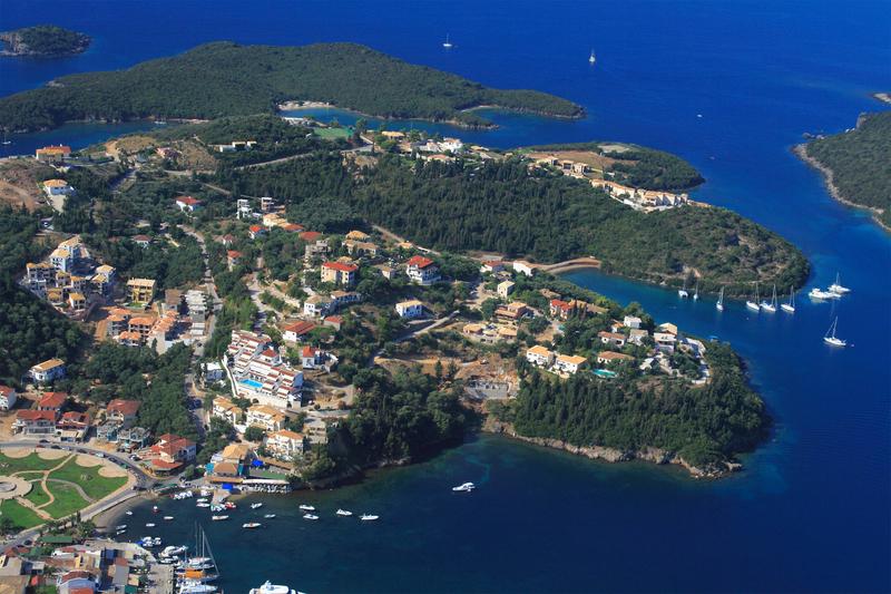 Sivota (Syvota) Beautiful Seaside Village In Epirus Greece