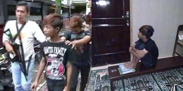 Remaja Yang Menginjak Dan Meniduri Al Qur'an Ini Akhirnya Ditangkap Pihak Kepolisian