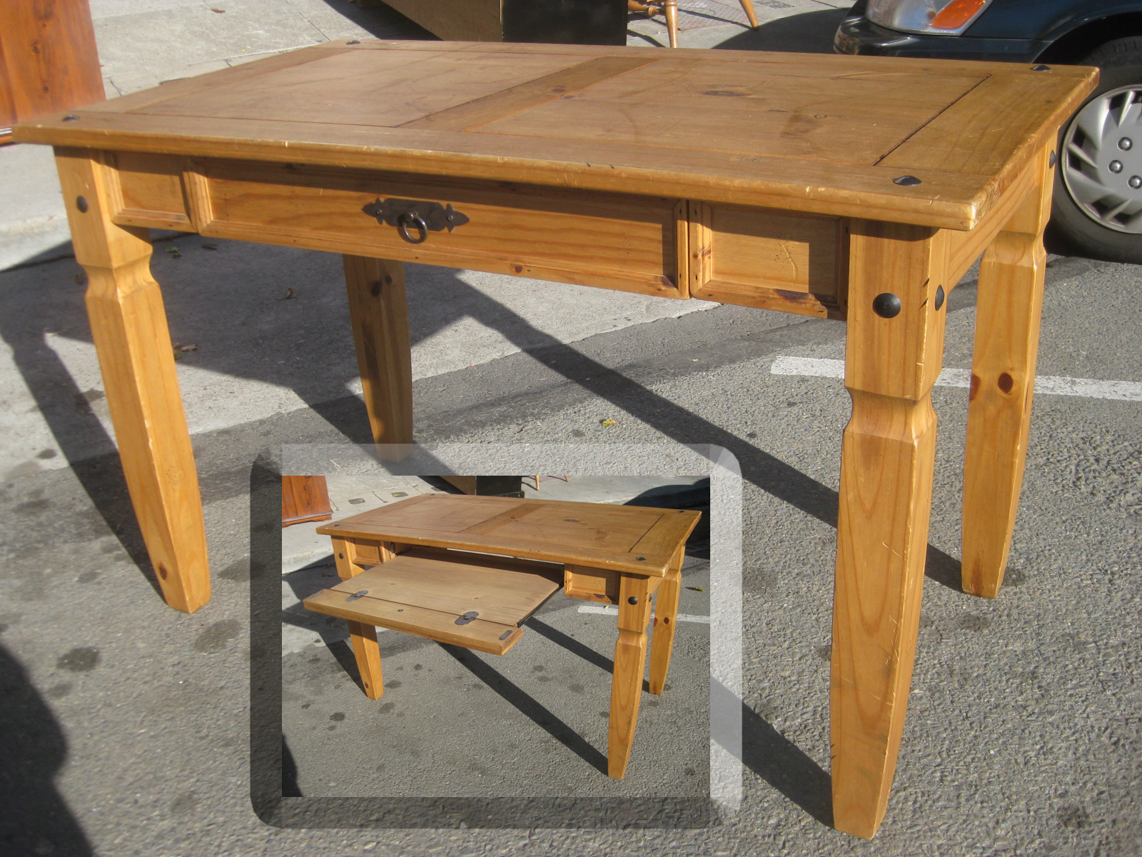 UHURU FURNITURE  COLLECTIBLES SOLD  Pine Pier 1