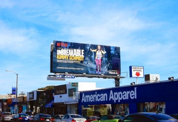 Unbreakable Kimmy Schmidt billboard