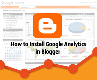 How to Track Visitors to a Blogger Blog Using Google Analytics : easkme