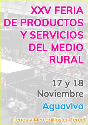 XXV Feria de productos y servicios del medio rural