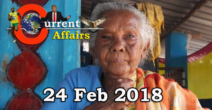 Kerala PSC - Daily Current Affairs 24/02/2018