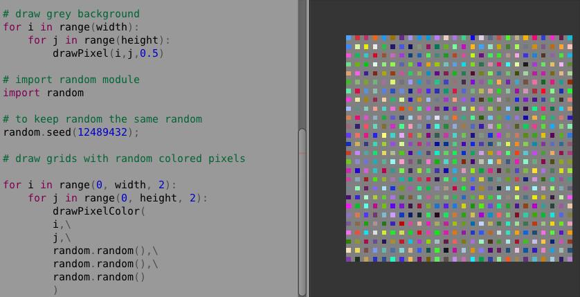 PYTHON / Pixel Art in Blender | Blender Sushi