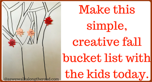 Fall bucket list of fun family ideas
