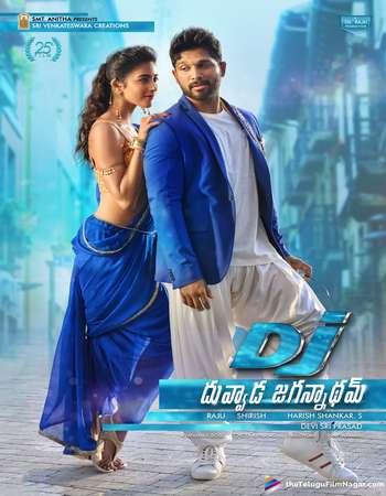 Duvvada Jagannadham 2017 UNCUT Hindi Dual Audio DTHRip Full Movie Download
