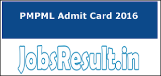 PMPML Admit Card 2016