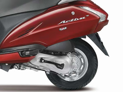 Honda Activa 4G with BSIV compliance