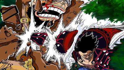 Luffy vs Cracker