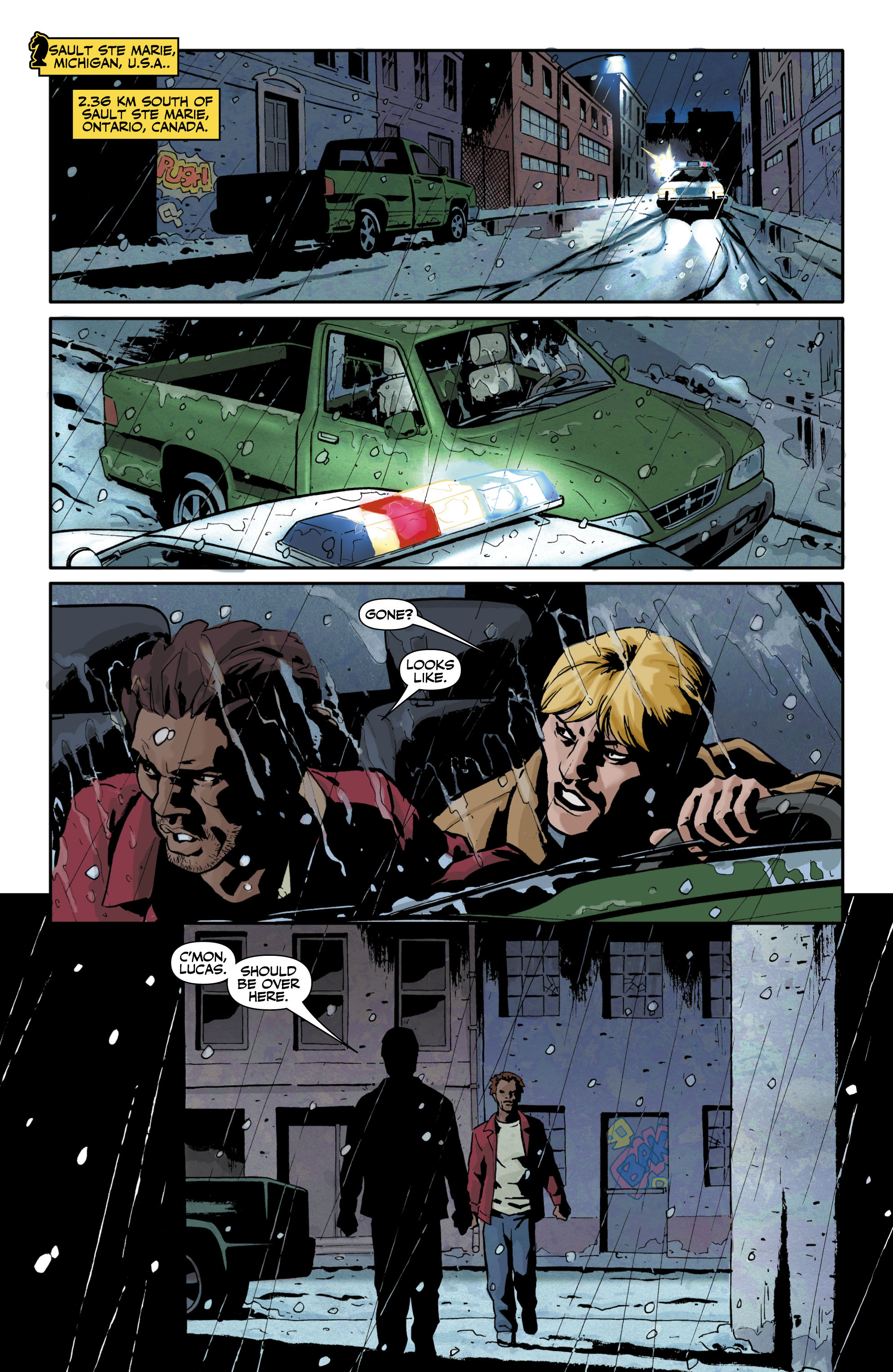 Checkmate (2006) 10 Page 2