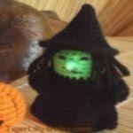 patron gratis bruja amigurumi | free amigurumi pattern wich