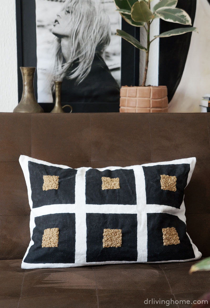 Diy accent pillow
