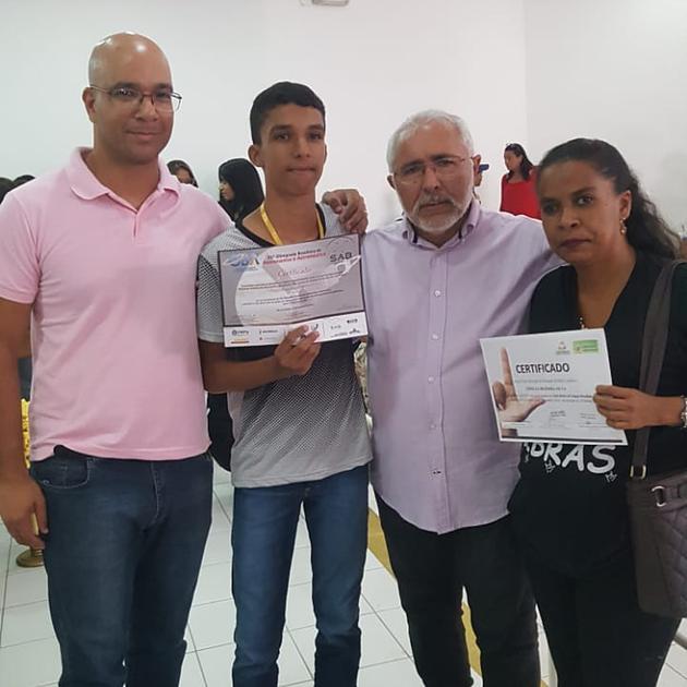 Município de Delmiro Gouveia tem 2 alunos pré-selecionados para Olimpíada Internacional de Astronomia e Astronáutica