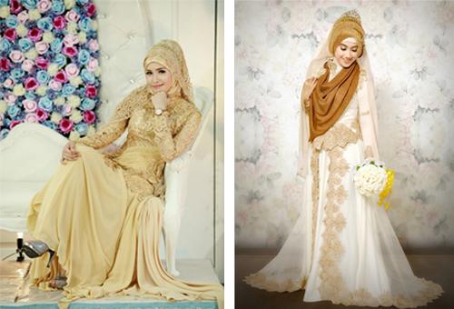 contoh model baju pengantin
