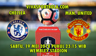 Prediksi Bola Chelsea vs Manchester United 19 Mei 2018