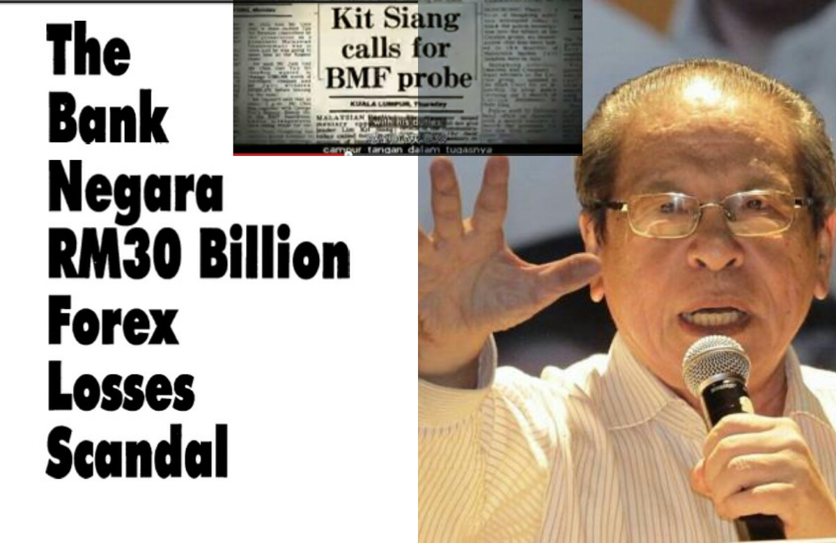 Bank negara rm30 billion forex losses scandal