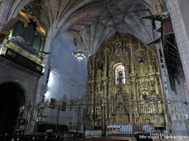 Capilla Mayor, Catedral de Coria, Extremadura