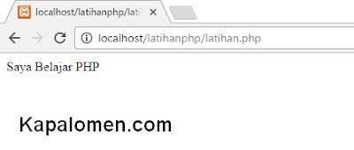 Memulai Membuat Halaman PHP dan Integrasi dengan HTML
