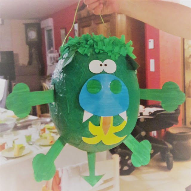 tutoriel en français photo pinata dragon rapide express facile penture