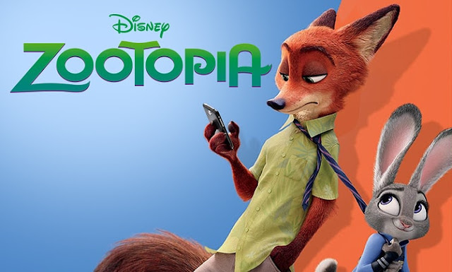 Disney Zootopia Nick Wilde and Judy Hopps