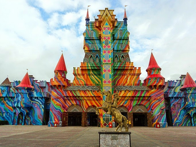Castelo das Nações: Entrada do Beto Carrero World