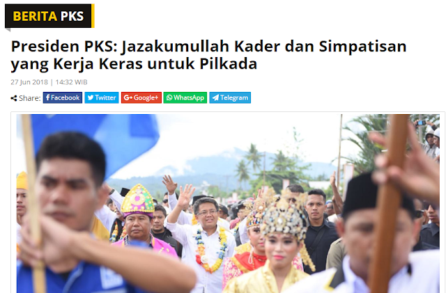Surat Balasan Untuk PKS