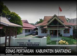 Alamat Dinas Pertanian dan Peternakan Kabupaten Bantaeng